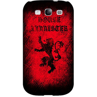 EYP Game Of Thrones GOT House Lannister  Back Cover Case For Samsung Galaxy S3 Neo GT- I9300I 350166