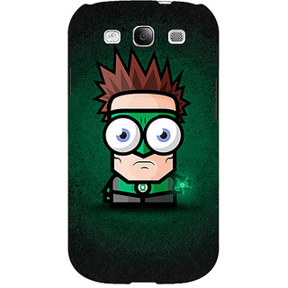 EYP Big Eyed Superheroes Green Lantern Back Cover Case For Samsung Galaxy S3 Neo GT- I9300I 350399