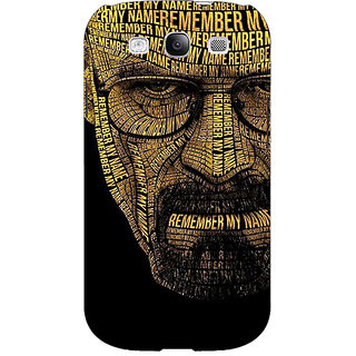 EYP Breaking Bad Heisenberg Back Cover Case For Samsung Galaxy S3 Neo GT- I9300I 350430