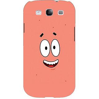EYP Spongebob Patrick Back Cover Case For Samsung Galaxy S3 Neo GT- I9300I 350465