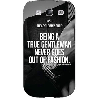 EYP SUITS Quotes Back Cover Case For Samsung Galaxy S3 Neo GT- I9300I 350488