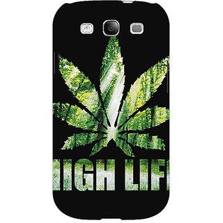 EYP Weed Marijuana Back Cover Case For Samsung Galaxy S3 Neo GT- I9300I 350496