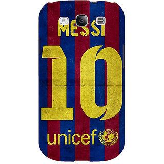 EYP Barcelona Messi Back Cover Case For Samsung Galaxy S3 Neo GT- I9300I 350523
