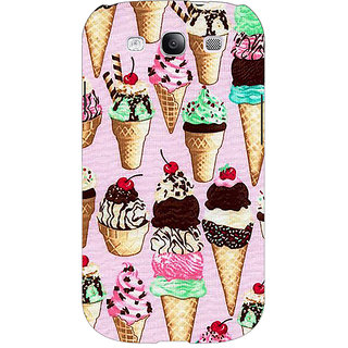 EYP Ice cream Doodle Back Cover Case For Samsung Galaxy S3 Neo GT- I9300I 351366