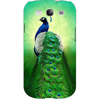 EYP Paisley Beautiful Peacock Back Cover Case For Samsung Galaxy S3 Neo 341599