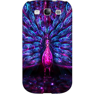 EYP Paisley Beautiful Peacock Back Cover Case For Samsung Galaxy S3 Neo 341600