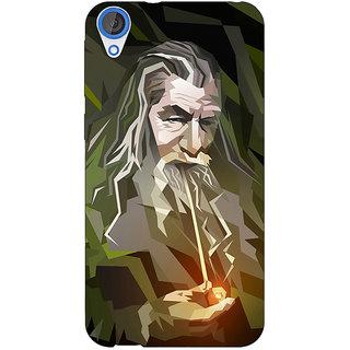 EYP LOTR Hobbit Gandalf Back Cover Case For HTC Desire 820Q Dual Sim 360366