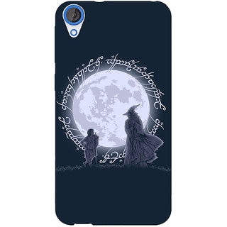 EYP LOTR Hobbit  Back Cover Case For HTC Desire 820Q Dual Sim 360378