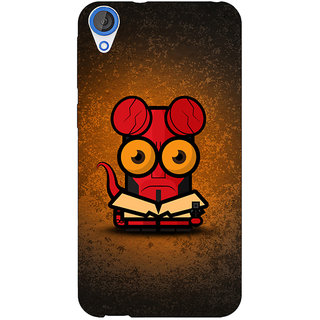 EYP Big Eyed Superheroes Hell Boy Back Cover Case For HTC Desire 820Q Dual Sim 360400