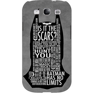 EYP Superheroes Batman Dark knight Back Cover Case For Samsung Galaxy S3 Neo GT- I9300I 350001