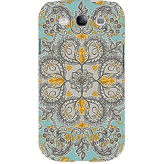EYP Vintage Floral Pattern Back Cover Case For Samsung Galaxy S3 Neo GT- I9300I 350262