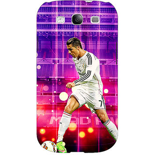 EYP Cristiano Ronaldo Real Madrid Back Cover Case For Samsung Galaxy S3 Neo GT- I9300I 350304