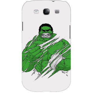 EYP Superheroes Hulk Back Cover Case For Samsung Galaxy S3 Neo GT- I9300I 350326