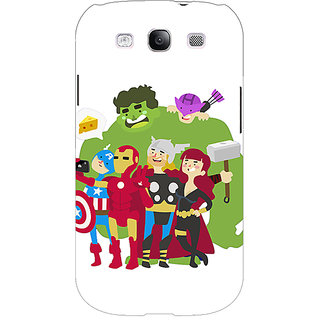 EYP Superheroes Baby Avengers Back Cover Case For Samsung Galaxy S3 Neo GT- I9300I 350337