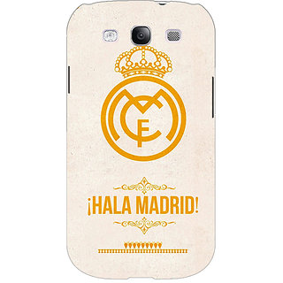 EYP Real Madrid Back Cover Case For Samsung Galaxy S3 Neo GT- I9300I 350593