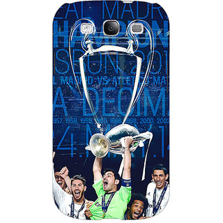EYP Real Madrid La Decima Back Cover Case For Samsung Galaxy S3 Neo GT- I9300I 350597