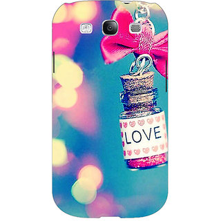 EYP Love Bottle Back Cover Case For Samsung Galaxy S3 Neo GT- I9300I 351145