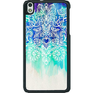 EYP Royal Queen Pattern Back Cover Case For HTC Desire 816G 400231