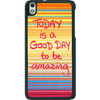 EYP Good Day Pattern Back Cover Case For HTC Desire 816G 400232