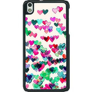 EYP Hearts in the Air Pattern Back Cover Case For HTC Desire 816G 400233