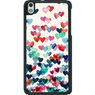 EYP Hearts in the Air Pattern Back Cover Case For HTC Desire 816G 400234