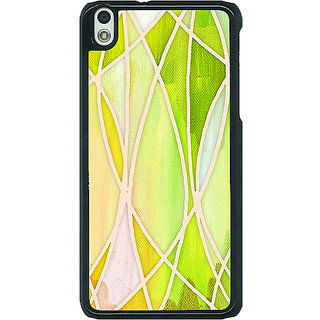 EYP Designer Geometry Pattern Back Cover Case For HTC Desire 816G 400236