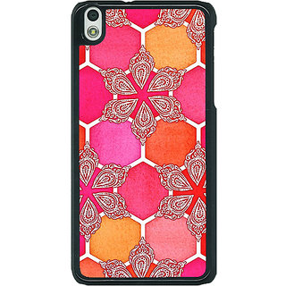 EYP Hot Winter Pattern Back Cover Case For HTC Desire 816G 400238