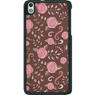 EYP Soft Roses Pattern Back Cover Case For HTC Desire 816G 400240