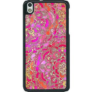 EYP Hot Floral  Pattern Back Cover Case For HTC Desire 816G 400241