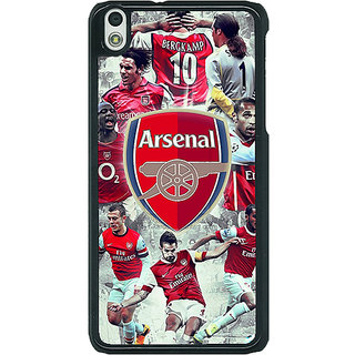 EYP Arsenal Therry Henry Back Cover Case For HTC Desire 816G 400508