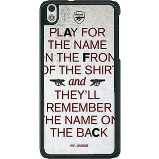 EYP Arsenal Back Cover Case For HTC Desire 816G 400512