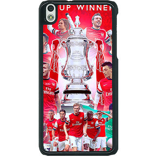 EYP Arsenal Back Cover Case For HTC Desire 816G 400516