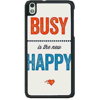 EYP Quote Back Cover Case For HTC Desire 816G 401325