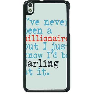 EYP Quote Back Cover Case For HTC Desire 816G 401339