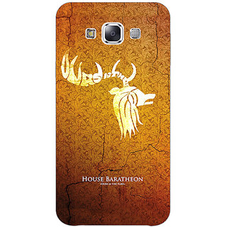 EYP Game Of Thrones GOT House Baratheon  Back Cover Case For Samsung Galaxy E7