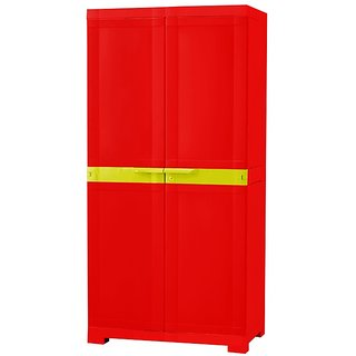 Nilkamal Freedom Mini Cabinet Fmm-Brd-Tyl Red