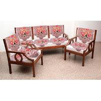 Handloomhub Set Of 10 Premium Nitted Sofa Cover-7