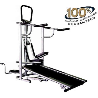 NOVAFIT 4 IN 1 MANUAL MULTIFUNCTIONAL TREADMILL available at ShopClues for Rs.11730
