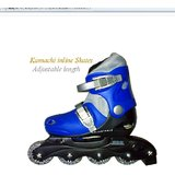 Kamachi Adjustable Inline Skates For Youngsters & Kids Foot Size 5 -to- 8