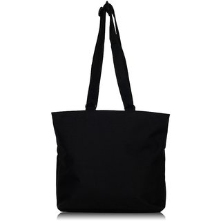 Ladies Tote Hand Bag - Black 608