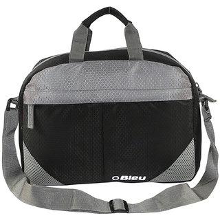 Bleu light weight sling Bag - Black  Grey - 1203