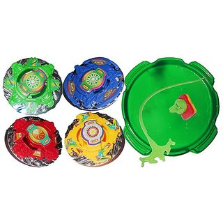 krypton Assorted Spin Gear Super Top Beyblade Set