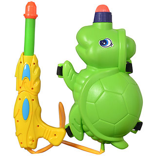 Holi Pichkari Water Gun with Tank - Tortoise