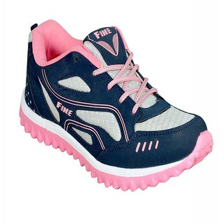Jollify Fine Womens pink Running Shoes