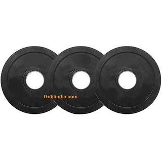 Gofitindia 15 KG X 2 SPARE OLYMPIC RUBBER WEIGHT PLATES