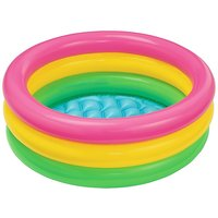 Intex Inflatable Baby Pool, Multi Color (2-feet)