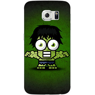 EYP Big Eyed Superheroes Hulk Back Cover Case For Samsung S6