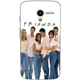 EYP TV Series FRIENDS Back Cover Case For Moto X (1st Gen)