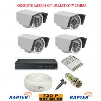 Rapter CCTV COMBO KIT, 36IR (720P) Bullet Camera