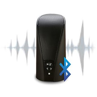 Portronics Pluto Stereo Bluetooth Speaker with FM POR 131 (Black)